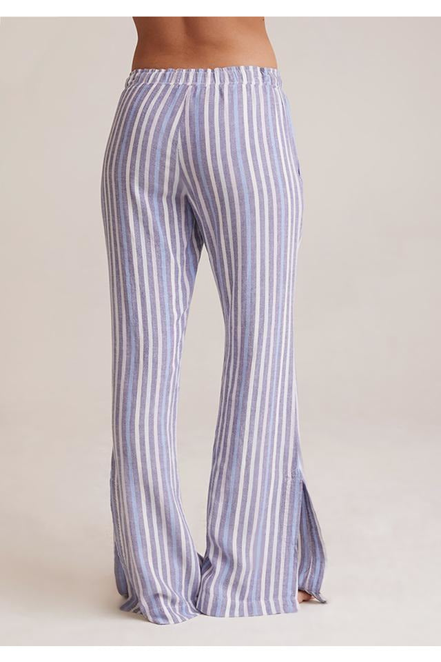 Striped Smocked Pants