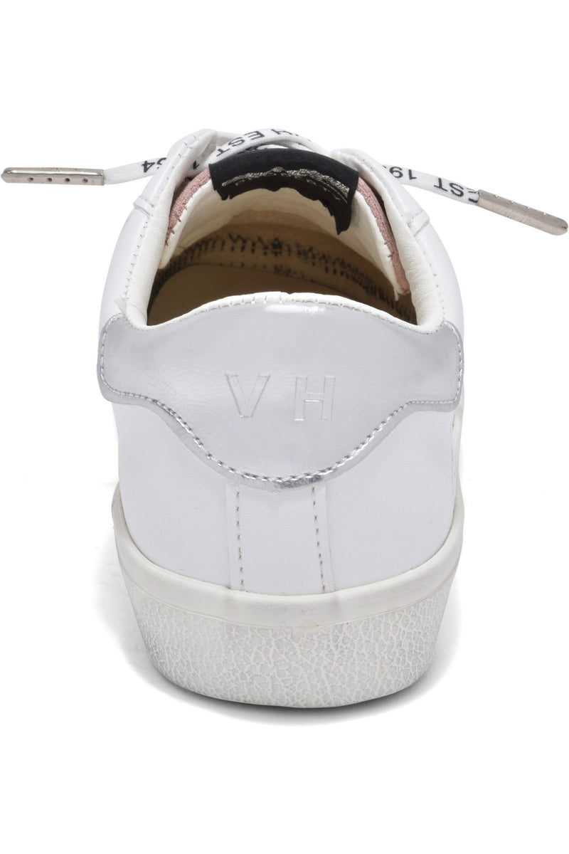 Gadol White and Blush Sneaker