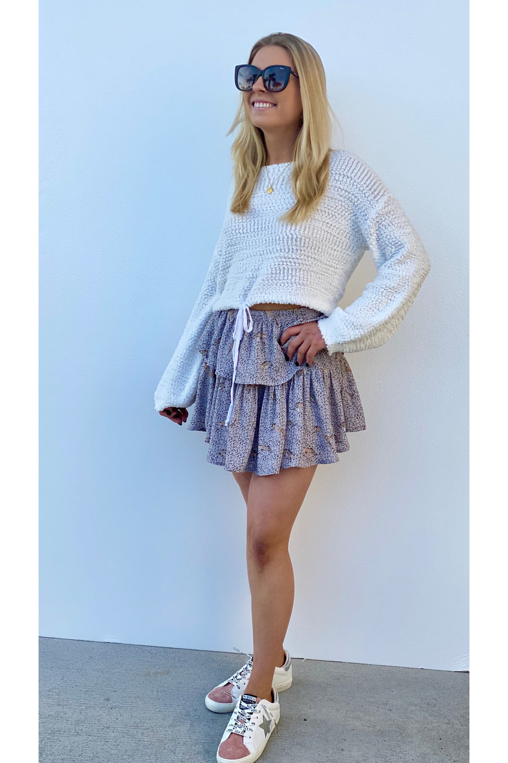 Hamptons Blush Jag Skirt