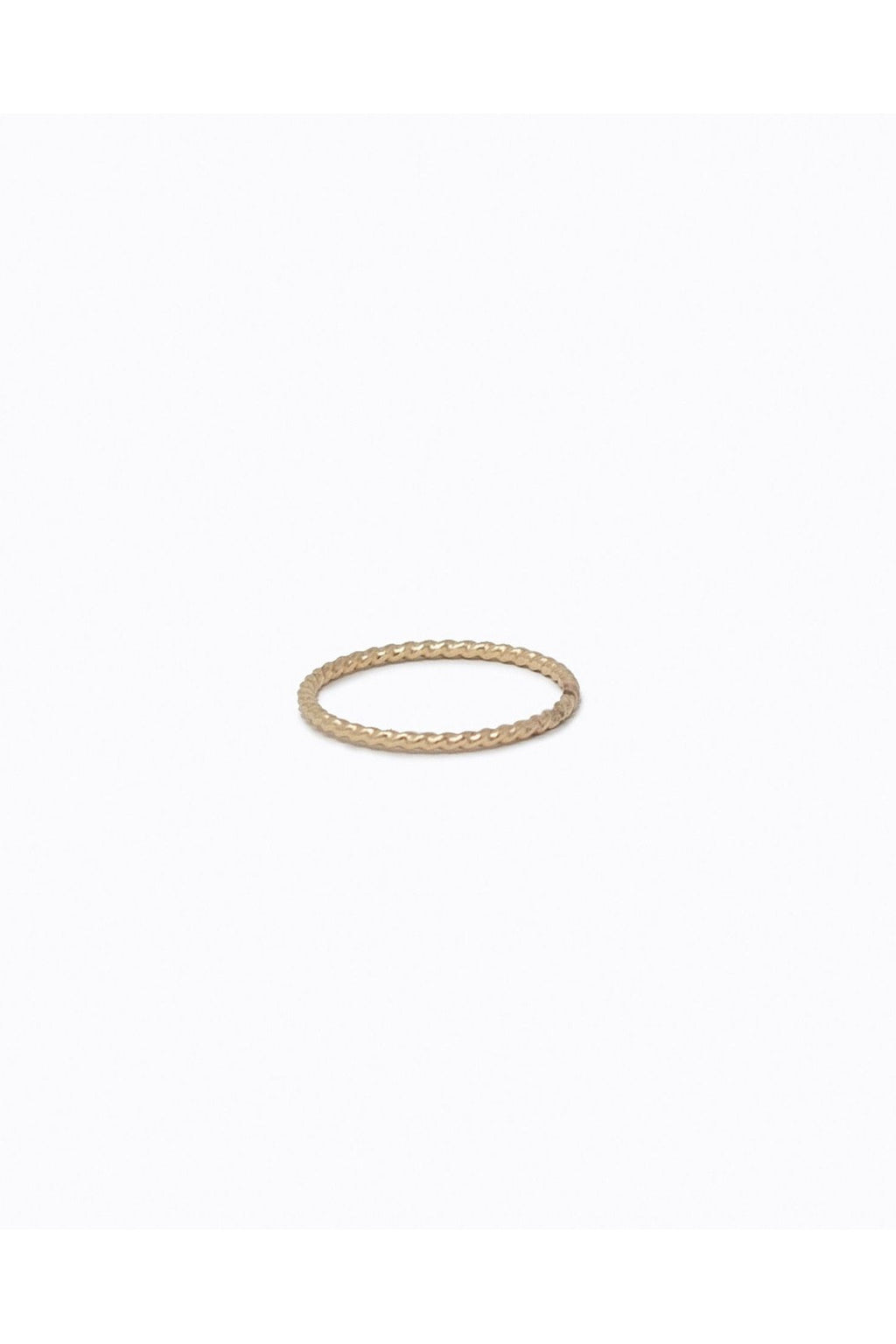 Able Twisted Stacking Ring