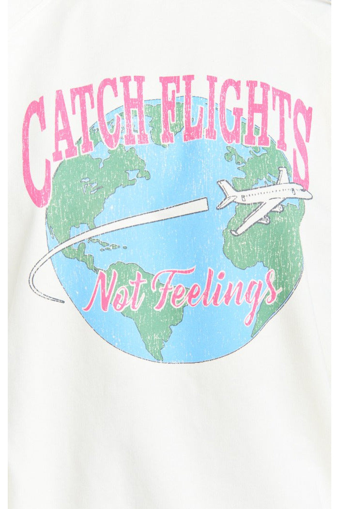 Vada Catch Flights Sweatshirt