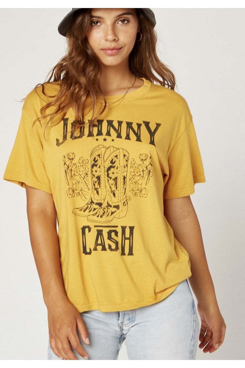 Johnny Cash Boots Tee
