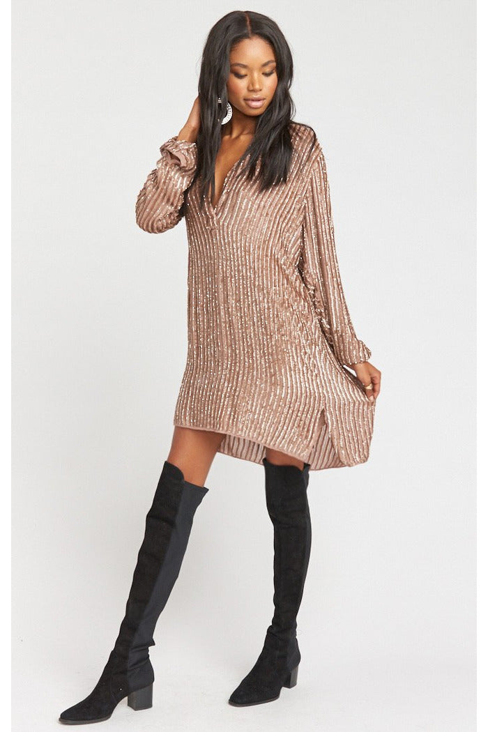 Mumu Roscoe Beaded Dress