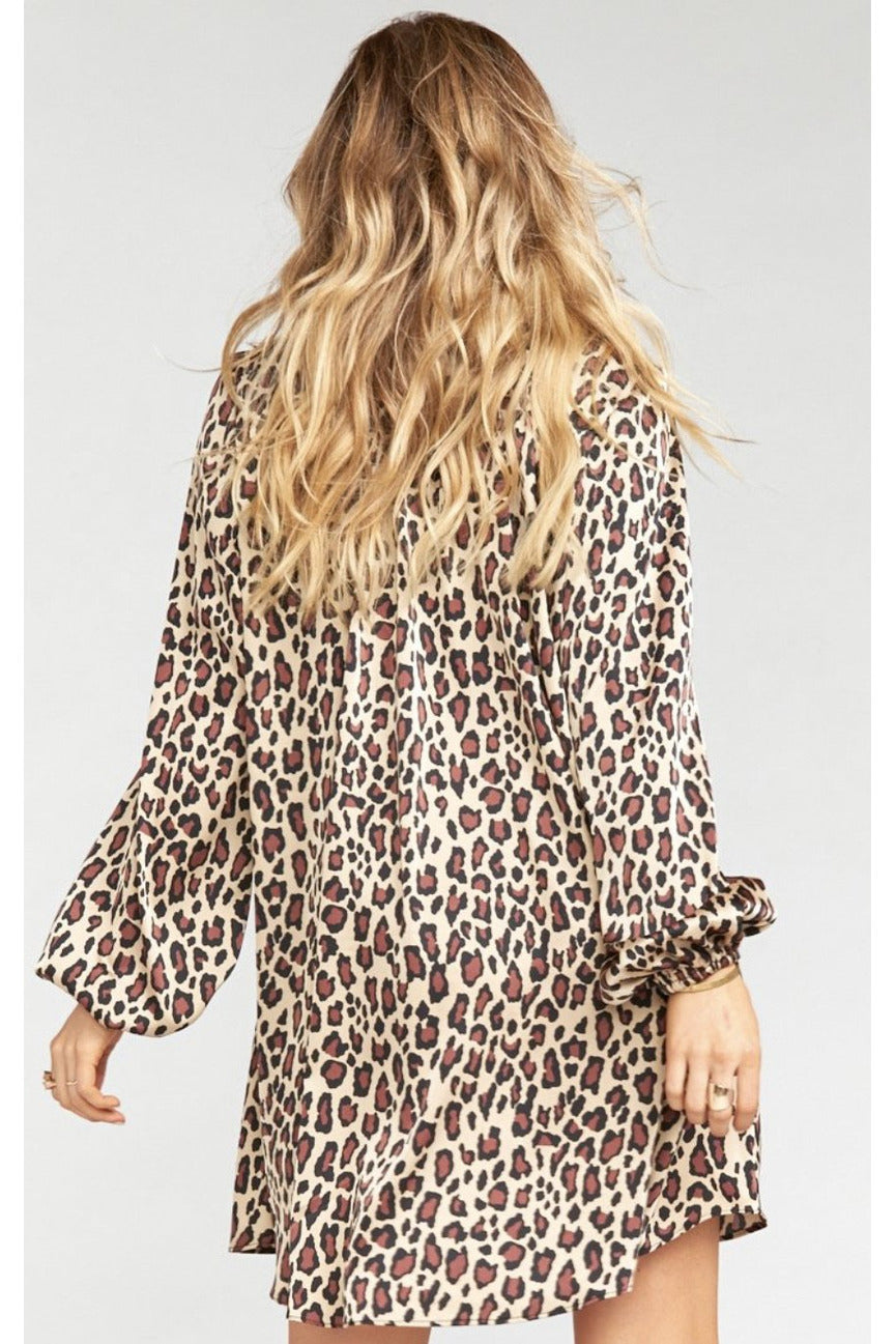 Cheetah McKenna Dress