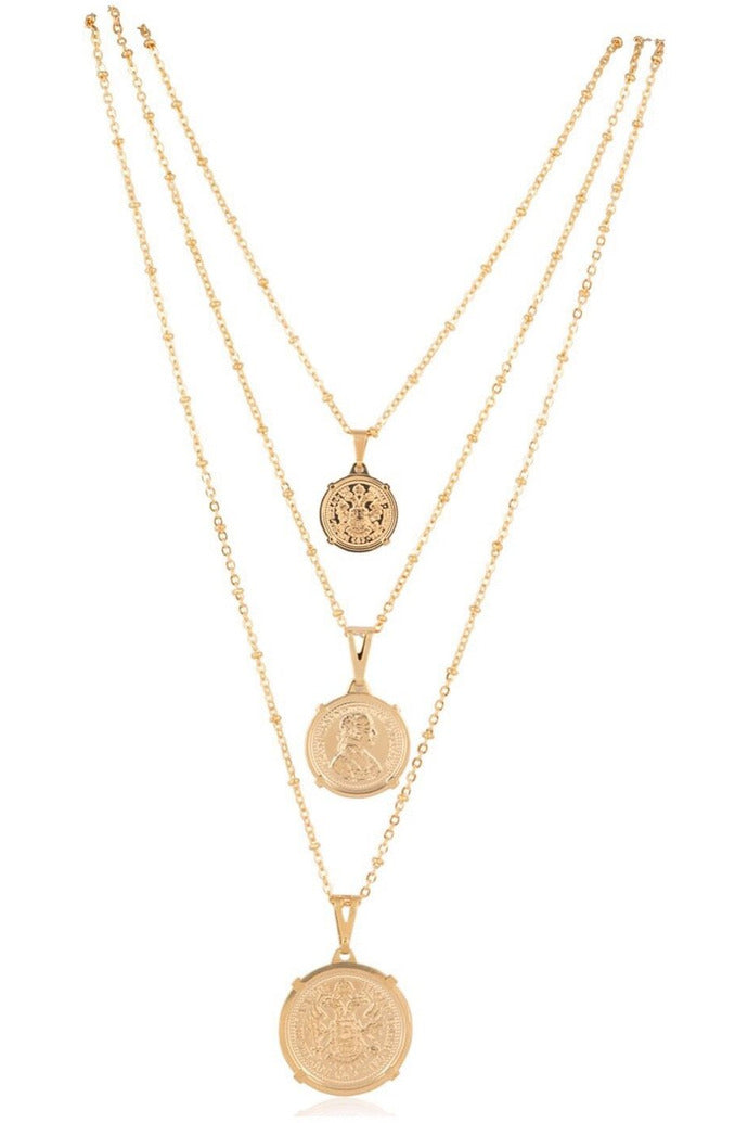 Emperor Coin Necklace