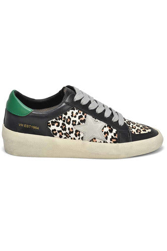 Green Day Black Leopard Sneakers