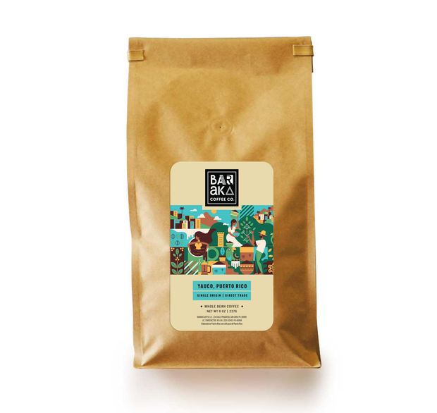 Yauco, Puerto Rico Coffee Bag 2LBS