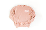 MAMA - LIGHT BLUSH SWEATSHIRT