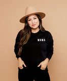 MAMA - SWEATSHIRT - BLACK