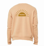 Boho MAMA - Light Blush Sweatshirt ( 2 sided )