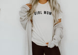 GIRL MOM - White Tee