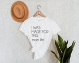 MADE FOR THIS - White Tshirt