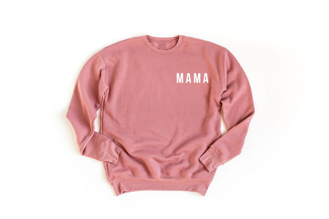 MAMA - BLUSH SWEATSHIRT