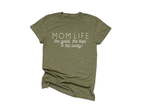 THE LOVELY - OLIVE TEE