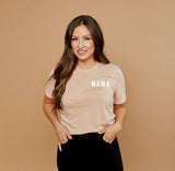 MAMA - Light Blush Tee