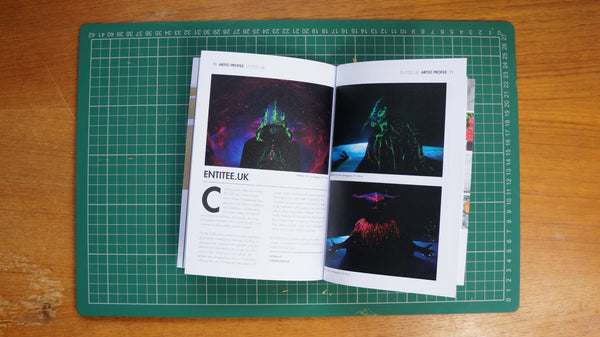 INSIDE ARTIST FEATURES VOID IN BEAUTIFUL PRINT