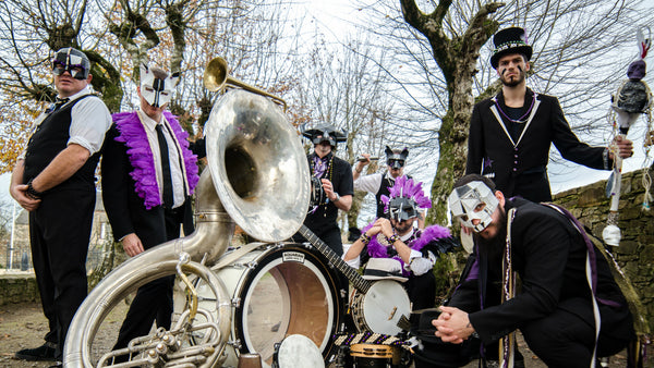 The Modified Masks of Zygos Brass Band