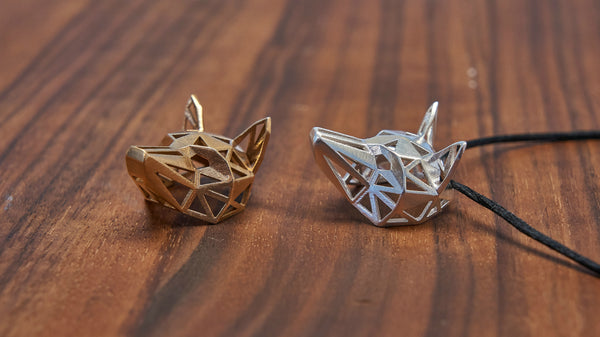 Fox Pendants Together