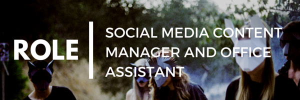 SOCIAL MEDIA MANAGER AND OFFICE ASSISTANT