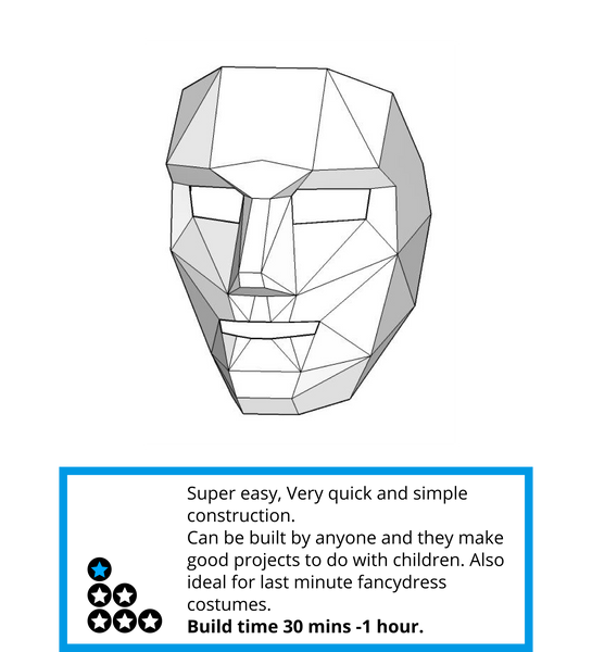 Polygon Face Mask Wintercroft – Face Masks Templates
