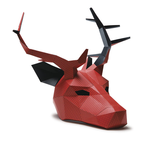 photo about 3d Paper Mask Template Free Printable called Wintercroft ® - Lower-Poly Masks