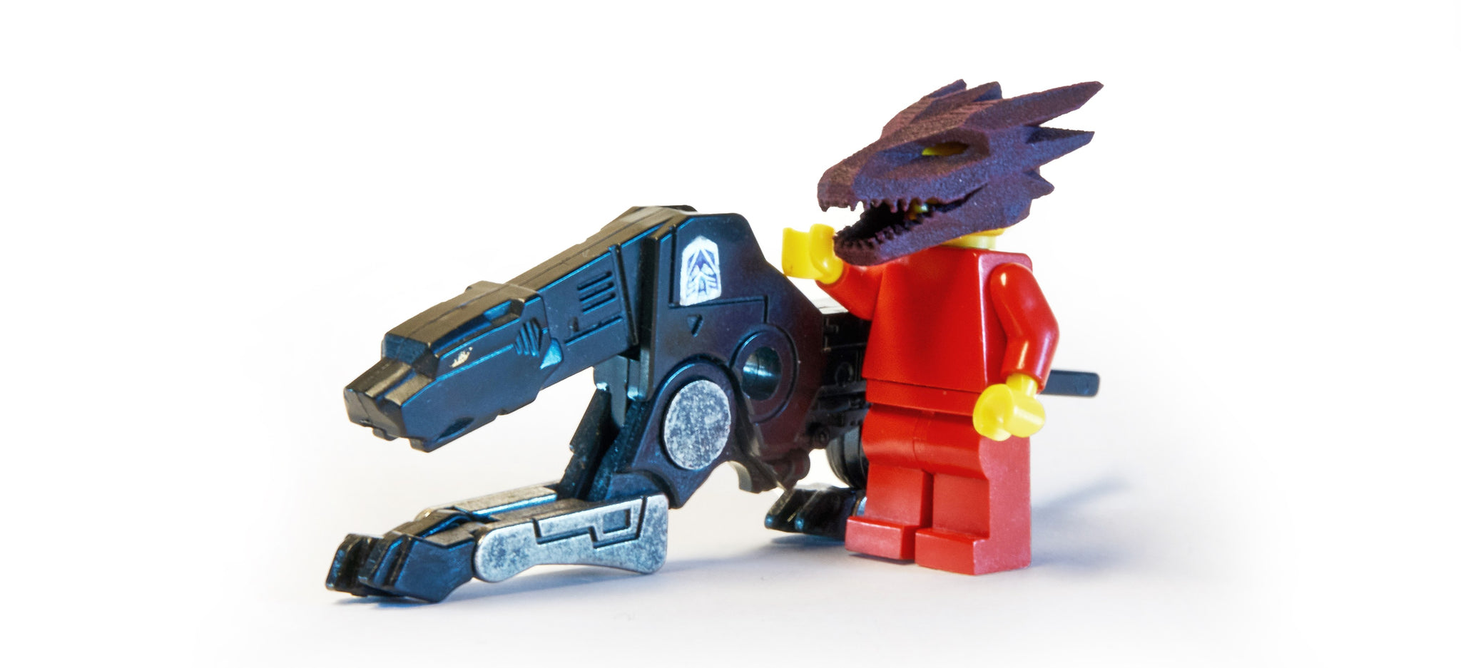 Lego Mini Figure Dragon