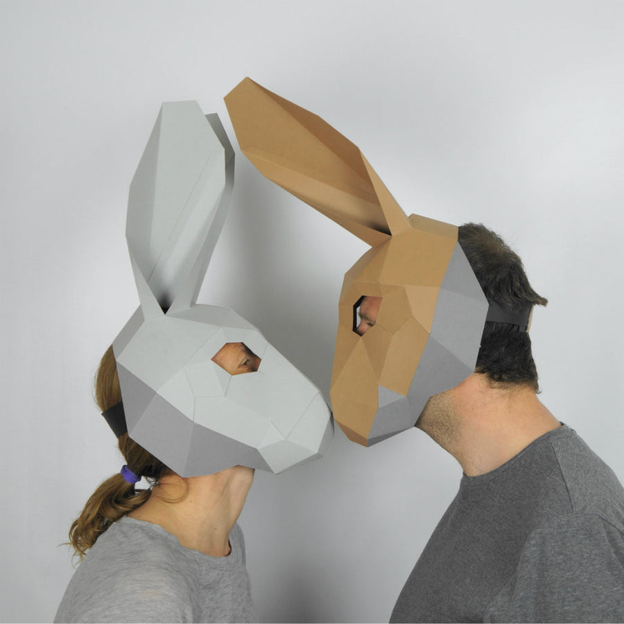 Hare Trophy Mask