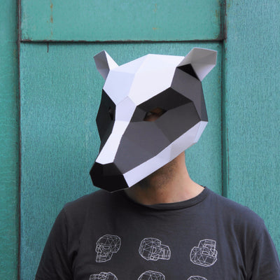 Badger Mask - Wintercroft  - 2
