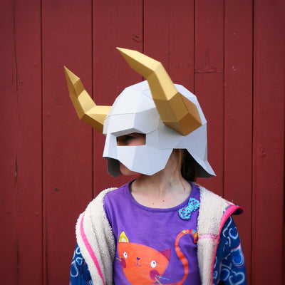 Horned Barbarian Helmet - Wintercroft  - 4