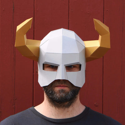 Horned Barbarian Helmet - Wintercroft  - 2