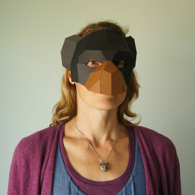 Chimp Half Mask - Wintercroft  - 2