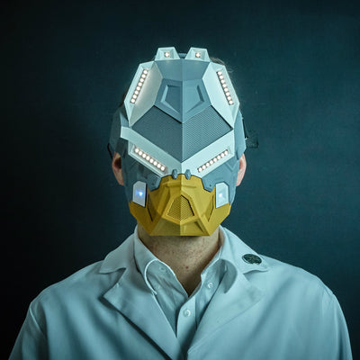 SOUND-REACTIVE LED MASK LIMITED EDITION