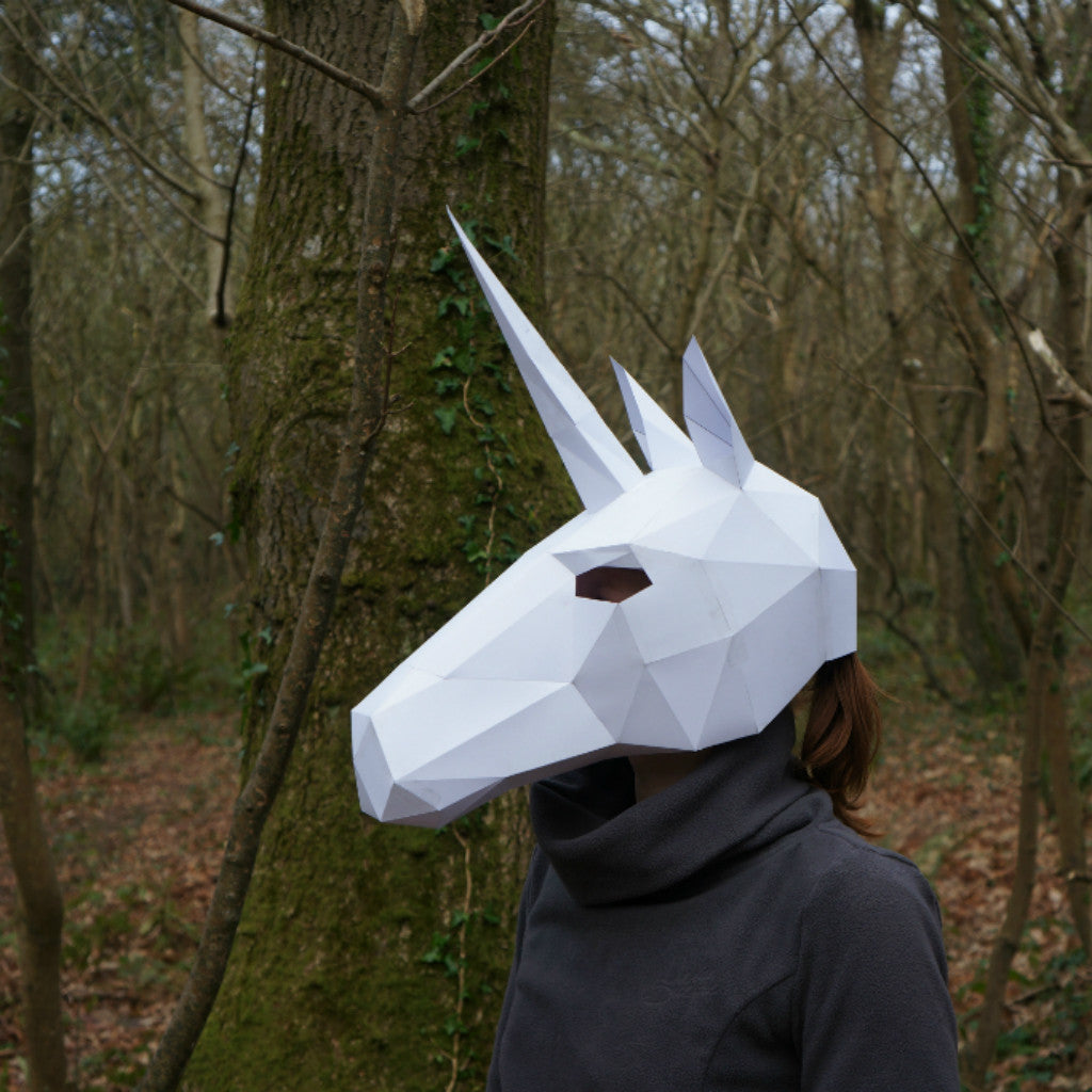 unicorn mask wintercroft