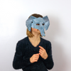 Wintercroft Kids Jungle Animal Book +  FREE DIGITAL MASK