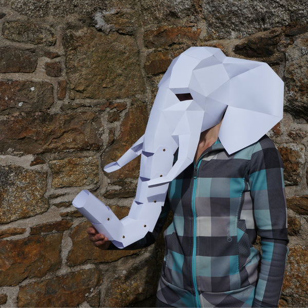 Elephant Mask Wintercroft