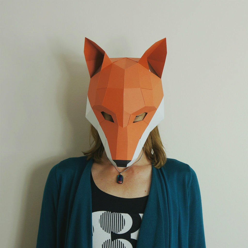 fox trophy mask wintercroft