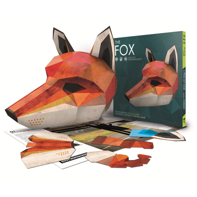 Wintercroft Fox Mask Book + Free Digital Mask - Wintercroft  - 1