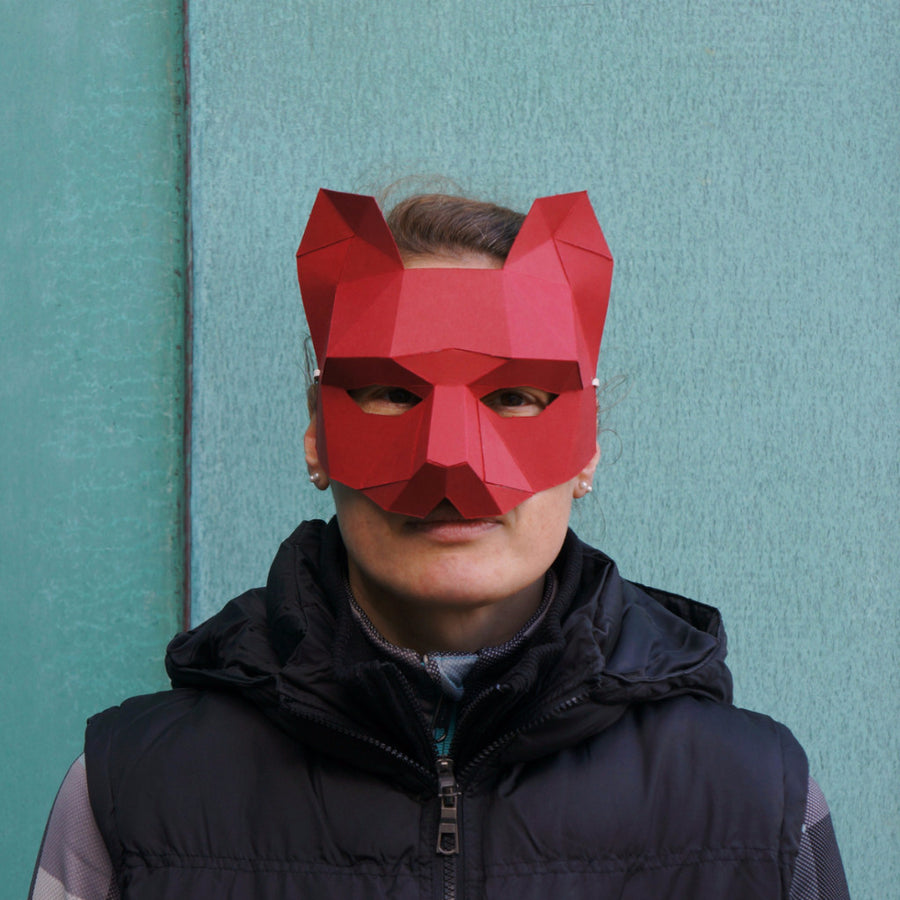 Cat Half Mask - Wintercroft  - 1