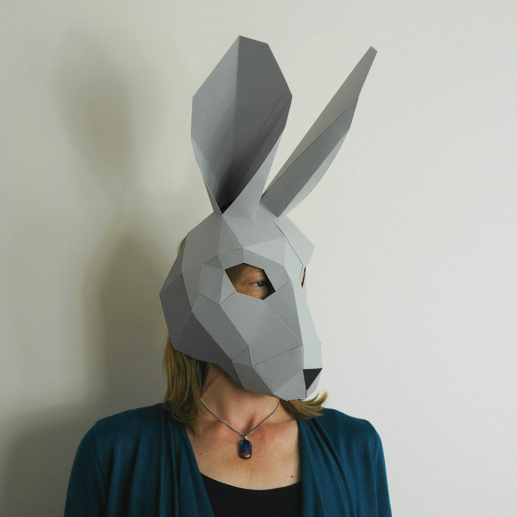 hare trophy mask wintercroft