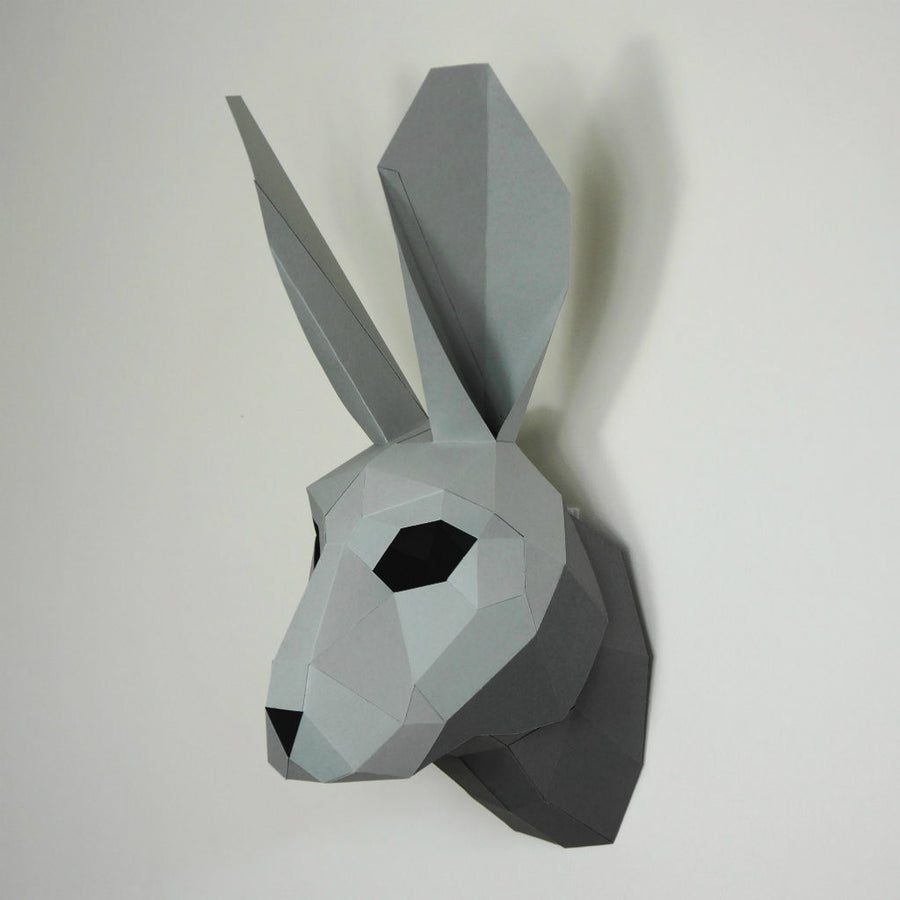 Trophy mask wintercroft hare trophy mask jeuxipadfo Image collections