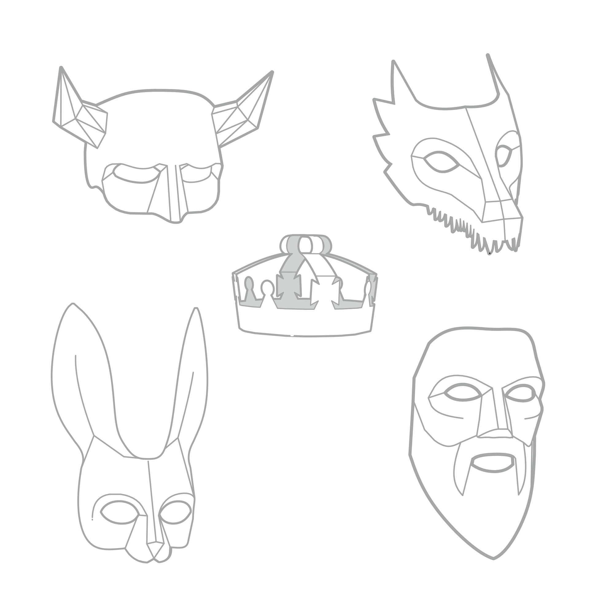 It's just a graphic of Printable Dragon Mask within cut out