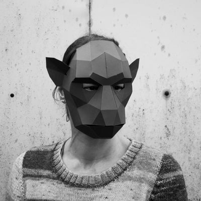 Monkey Mask - Wintercroft  - 5