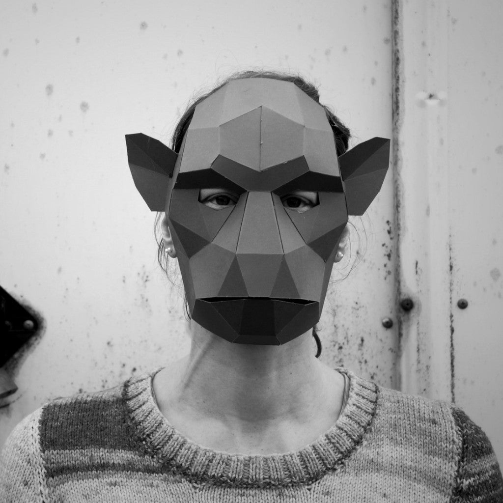 Monkey Mask - Wintercroft  - 1