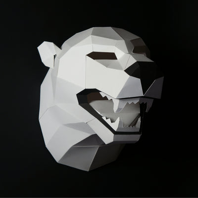 Polar Bear Trophy Mask