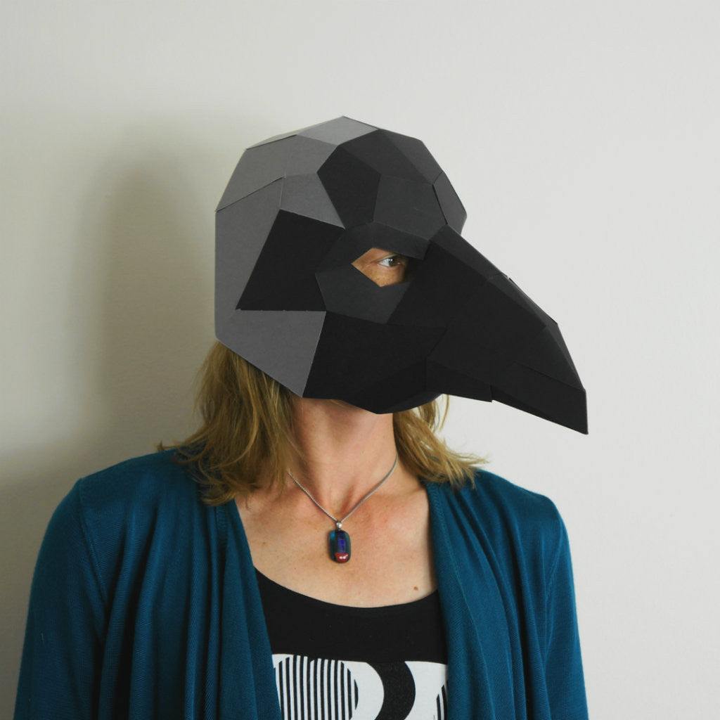 crow trophy mask wintercroft
