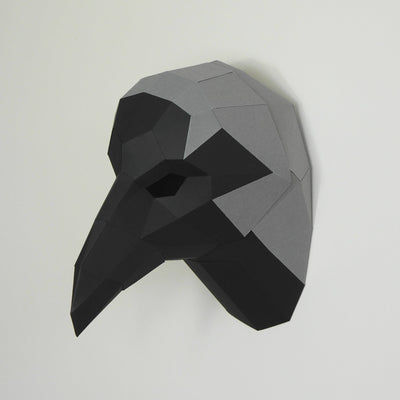 Crow Trophy Mask