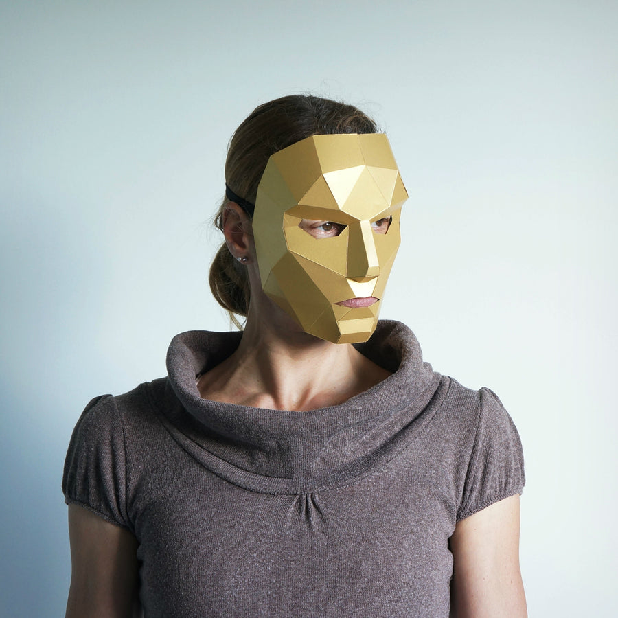 Polygon Female Face - Wintercroft  - 1