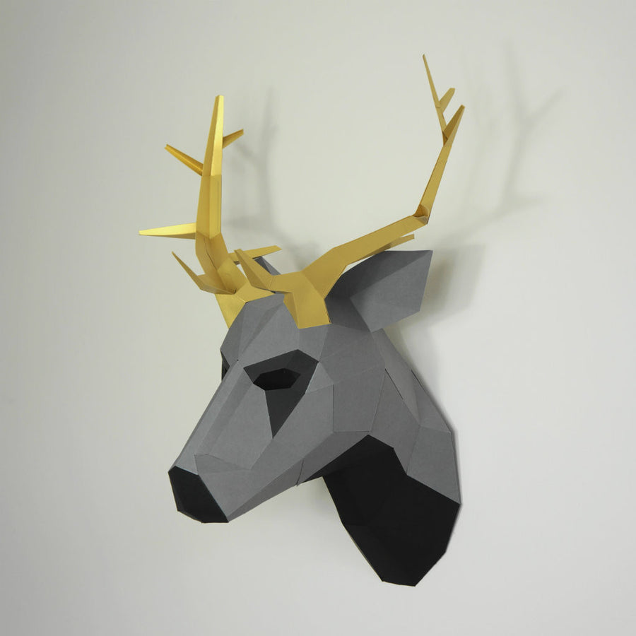 Trophy mask wintercroft stag trophy mask jeuxipadfo Image collections