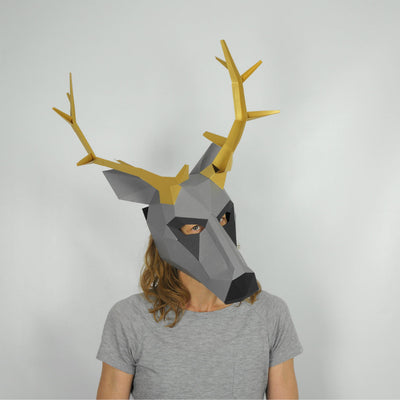 Stag Trophy Mask