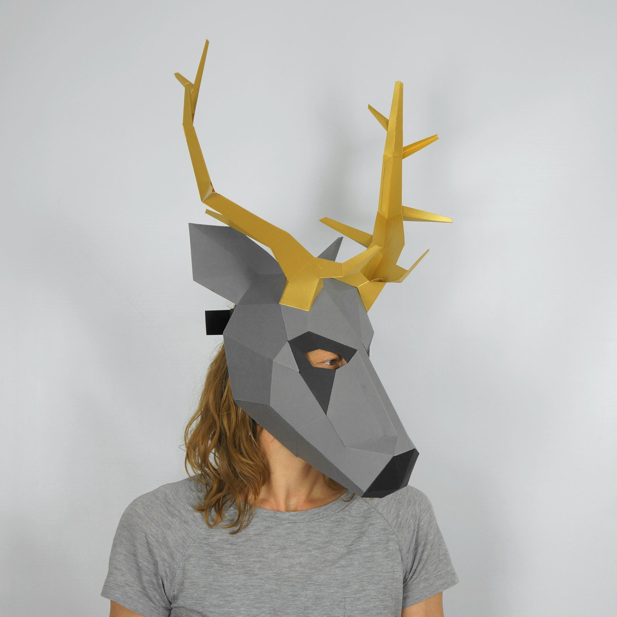 stag trophy mask wintercroft